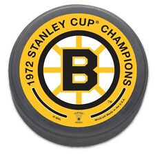 Boston Bruins NHL Size and Weight Hockey Puck Bruins Wincraft 735317