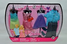 NEW-2008-BARBIE,KEN,TERESA,RAQUELLE,NIKKI,SUMMER-4 PACK/SET RAINBOW FASHIONS-NEW