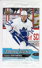 Auston Matthews Young Guns Oversized Jumbo rookie card RC Upper Deck Toronto