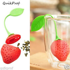 Tea Leaf Strainer Filter Man Cartoon Silicon Bag Herbal infuser