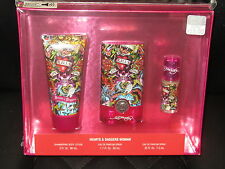 ED HARDY HEARTS & DAGGERS women's perfume gift set eau de parfum and lotion