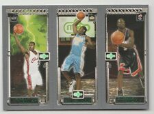 2003/04 TOPPS MATRIX LEBRON JAMES CARMELO ANTHONY DWYANE WADE RC ROOKIE CARD