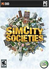 SIMCITY SOCIETIES PCDVD! BUILD AND MANAGE A CITY AND TOWNS! L@@K HERE!