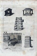 1801 ANTIQUE MILITARY PRINT MACHINES USED IN ANCIENT SIEGES