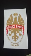 BIANCHI LOGO DECAL FOR BIKE