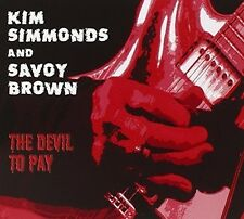 Devil To Pay - Kim & Savoy Brown Simmonds (2015, CD NIEUW)
