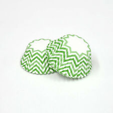 3oz Cupcake Liner 200 Pieces (Chevron Green)