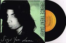 "TERENCE TRENT D'ARBY - SIGN YOUR NAME - RARE 7"" 45 PROMO RECORD w PICT SLV 1987"