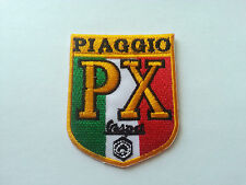 VESPA / LAMBRETTA SCOOTER RALLY MOD SEW / IRON ON PATCH:- VESPA PX PIAGGIO BADGE