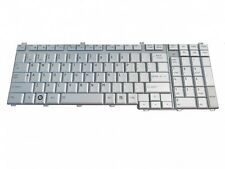 New Genuine Toshiba Satellite P300 Silver Keyboard V000180180