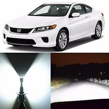 Alla Lighting High Beam Headlight White LED Bulbs for Honda Accord 04~16 Civic