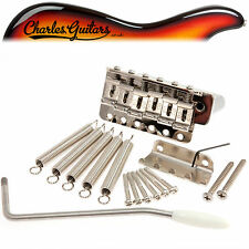 "CALLAHAM VINTAGE ""LEFTY"" STRAT STYLE  BRIDGE COMPLETE KIT (CA21004)"