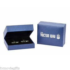 """Doctor Who Sonic Screwdriver 1"""" Cufflinks Set of 2 Licensed DW01060 Brand New"""