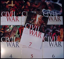 CIVIL WAR 1,2,3,4,5,6,7 (1-7)...2006...NM-...Mark Millar...VERY HIGH GRADE!