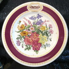 Great Royal Horticultural Society Chelsea Flower Show Plate 1984.  Minton