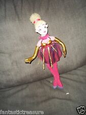 PLUSH DOLL FIGURE MANHATTAN TOY DANCER BLONDE CLOWN BALLERINA  POSEABLE FLEXIBLE