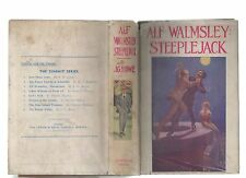 JOHN G ROWE ALF WALMSLEY STEEPLEJACK FIRST EDITION HARDBACK DJ 1930