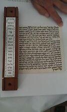 Unique 36cm Mezuzah Case + KOSHER  12cm or 15cm Scroll Parchment / Kelaf