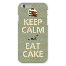 Keep Calm and Eat Cake FITS iPhone 6+ Plastic Snap On Case Cover New