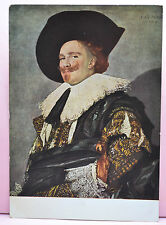 by FRANS HALS, THE LAUGHING CAVALIER POSTCARD - UNUSED