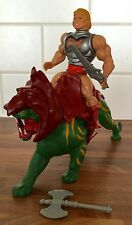 Vintage Masters Of The Universe Battle Armour He-Man & Battlecat Mattel MOTU