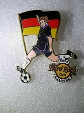 COLOGNE,Hard Rock Cafe Pin,2006 Worlds Soccer Cup Series with Flag