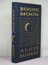 with author signature, Rogue Moon by Algis Budrys, Easton Press, Hugo nominee