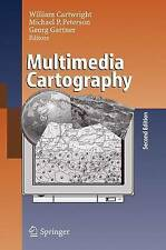 Multimedia Cartography by Cartwright  etc Hardcover textbook as new