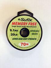 Sufix Schlagschnur für Karpfen Neu OVP 70m (1m/0,043€) memory free superweich