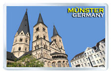 MÜNSTER GERMANY FRIDGE MAGNET SOUVENIR IMAN NEVERA