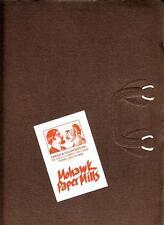 Vintage Mohawk Paper Mills Product Brochure Graphic Design 1980s