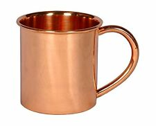 Copper Mug for Moscow Mules - 100% pure copper, FREE EXPRESS DELIVERY FROM UK