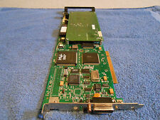 SYSTECH 65-800333-8 NTX-8023-PCI-FW-01 LONG PCI CARD INCLUDES 65-200136-3 PADDLE
