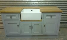 Belfast sink kitchen base unit, Handmade to any size Bespoke kitchen in frame