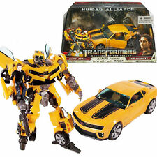 TRANSFORMERS BUMBLEBEE HUMAN ALLIANCE ROBOTER AUTO Kind Action Figuren Spielzeug