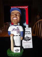 2001  Mike Piazza  ALL STAR GAME NY METS Bobbing Bobble Head Nodder W/ Box #2001
