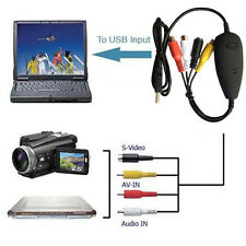 Ezcap 172 USB Audio Video Capture Converter From TV DVD Game Player Camera to PC