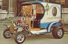 Vintage Carl Casper Paddy Wagon Show Hot Rod Photo POSTCARD gasser custom rat