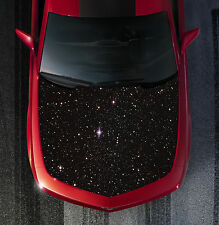H119 GALAXY Hood Wrap Wraps Decal Sticker Tint Vinyl Image Graphic