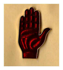 red hand of ulster Enamel lapel badge loyalist king billy rfc orange order scots