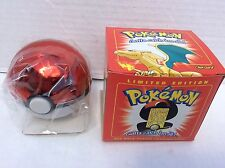 1999 Burger King Pokemon 23K Gold Red Box Trading Card CHARIZARD #6 sealed NEW!