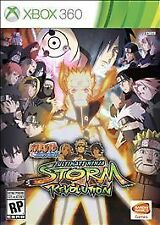 Naruto Shippuden Ultimate Ninja Storm Revolution XBOX 360 w/CASE GREAT