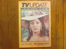 1985 Scranton Pa. TV Update(LESLEY-ANN DOWN/NORTH AND SOUTH/STEPHANIE ZIMBALIST)