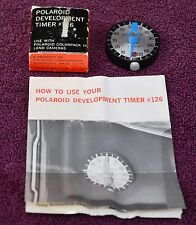 Polaroid #126 2 Minute Development Timer for Cameras 100 101 103 230 250 180