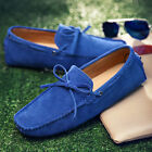 Men's Shoes Casual Shoes Slip-On Suede Leather Shoes Driver's Shoes