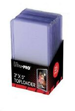 "25) Ultra Pro 3x5 3"" x 5"" Toploader Topload Holder Tall Cards Widevision Gameday"