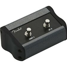 FENDER 2-BUTTON PROGRAMMABLE FOOTSWITCH FOR MUSTANG SERIES AMPS, 008-0997-000