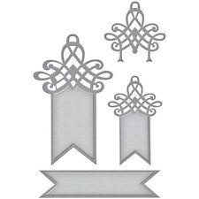 Spellbinders Shapeabilities Die: Swallowtail Tags - (S5-258)