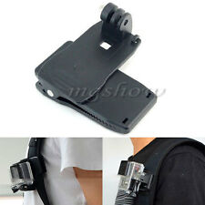 360°Rotary Backpack Hat Chest Head Belt Clip Clamp Mount for Gopro Hero2 3 3+4 5