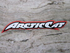 Arctic Cat firecat  decal sticker orange